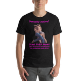 Bella and Canvas Short-Sleeve Unisex T-Shirt: Sexually active start PrEP