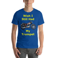 Bella and Canvas Short-Sleeve Unisex T-Shirt: Still had Trumpet yellow text