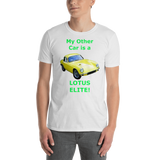 Gildan Short-Sleeve Unisex T-Shirt: Lotus Elite green text