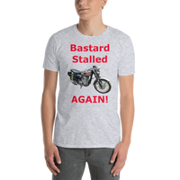Gildan Short-Sleeve Unisex T-Shirt: BSA Gold Star red text