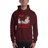 Gildan Hooded Sweatshirt: Lucas Pacemaker red text