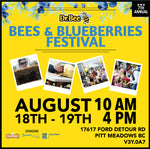 2018 - Dr. Bee's 7th Annual Bees & Blueberries Festival