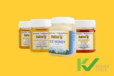 Dr. Bee Kosher Check Graphic