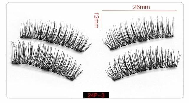 9abb0478a83 MAGLASHES MAGNETIC FALSE EYE LASHES - 24P-3 - EYELASH 2019 eye eye lash  eyelashes