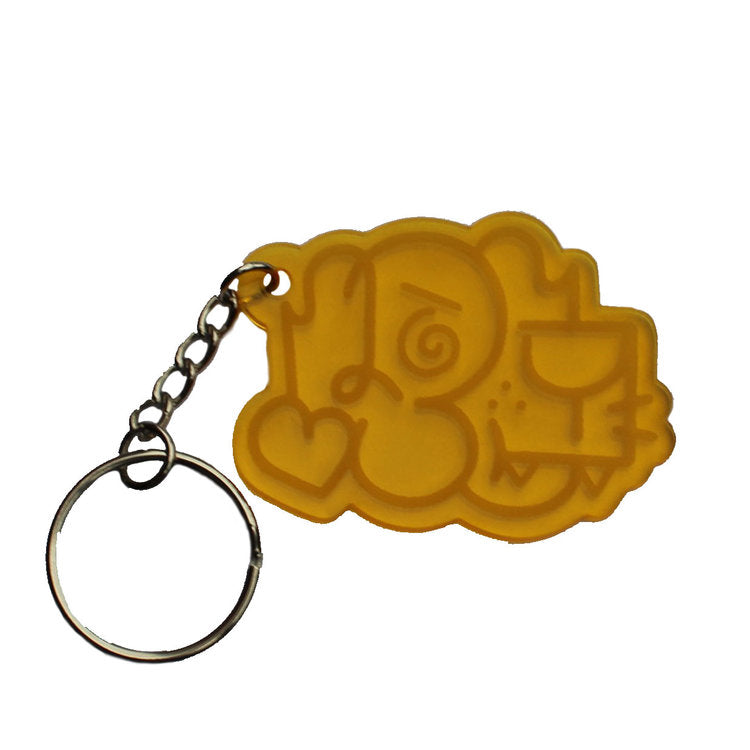 PEMEX - Yellow Keychain - Last Ones Studio