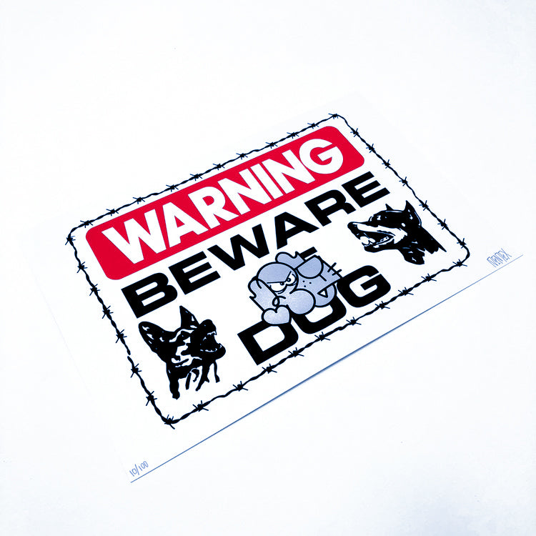 PEMEX - Warning Print - Last Ones Studio