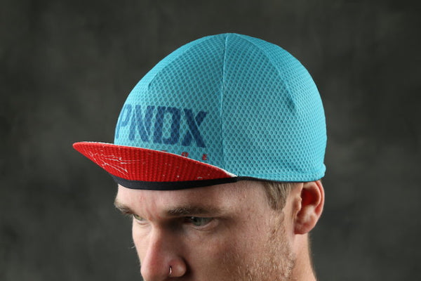 BLUE / TEAL SPLATTER CAP
