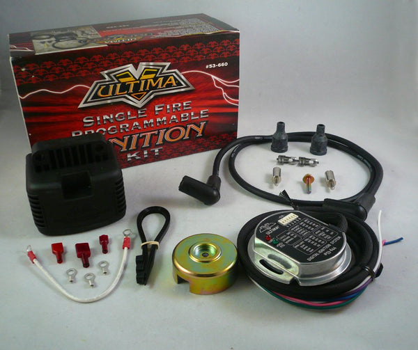 Ultima Single Fire Programmable Ignition Kit  53-660