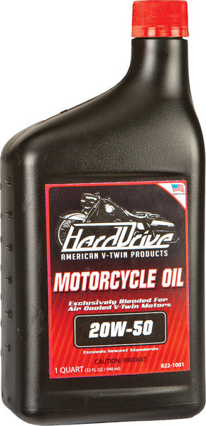 HARDDRIVE ENGINE OIL 20W-50 1QT