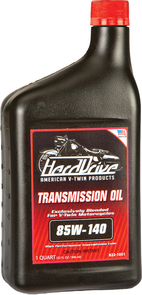 HARDDRIVE TRANSMISSION OIL 85W-140 1QT