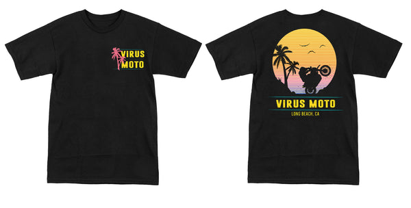 "Virus Moto ""Beach Cruiser"" T-Shirt"