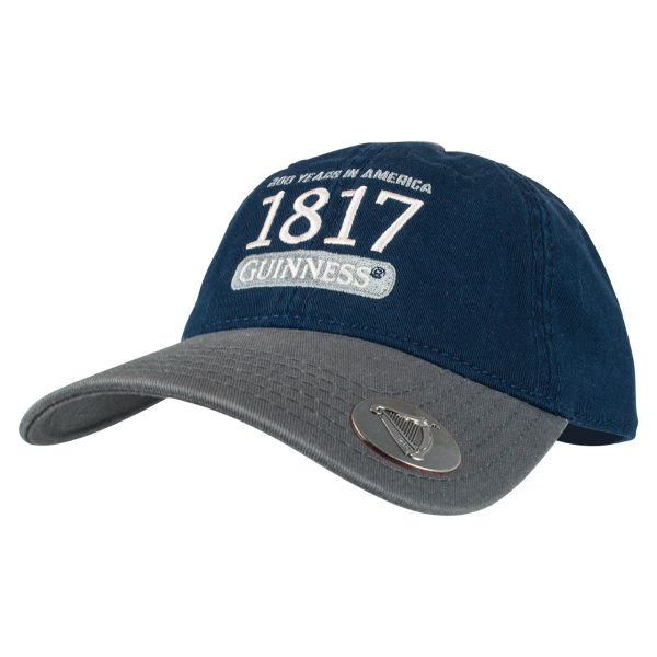 02be7f1330b1 Guinness 200th Anniversary Navy Baseball Cap **LIMITED EDITION