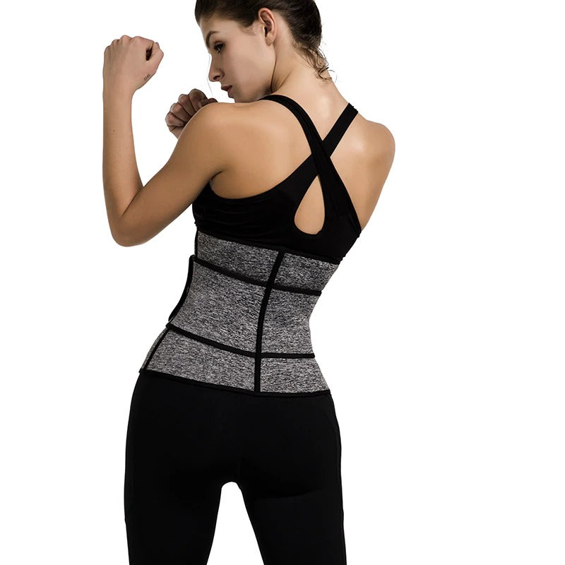 sexy shaping training daily soft waistline fitness work out yoga thigh belt train fitness health black