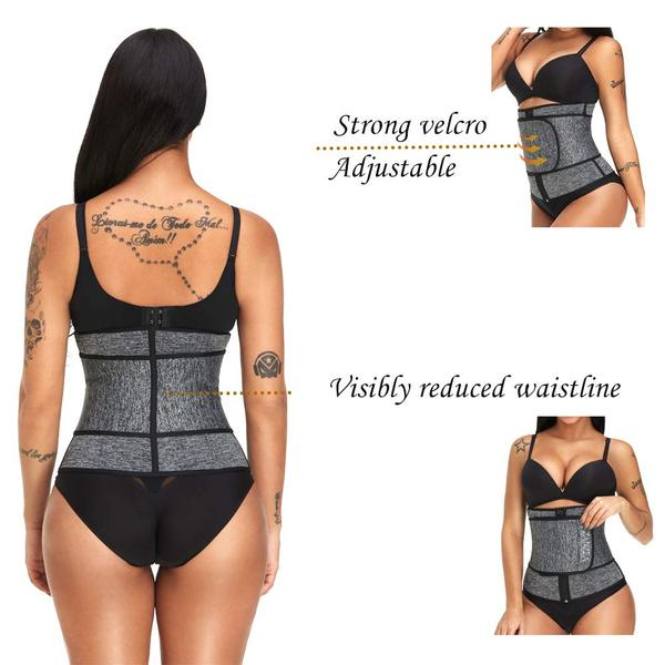 strong velco adjustable visibly reduced waistline