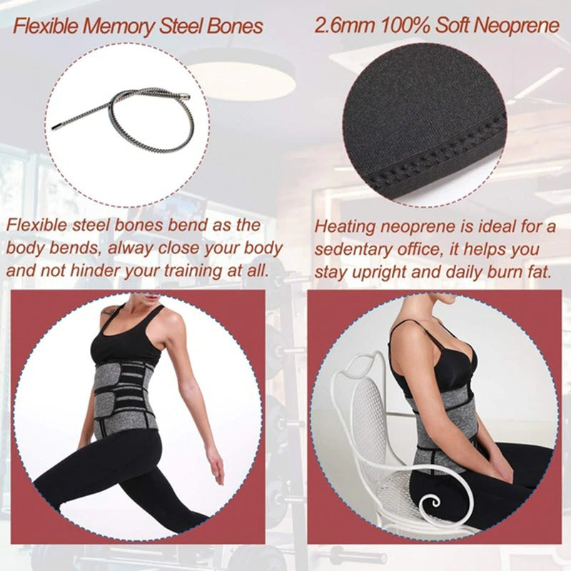 wide waist adjustable fiexiable memory material