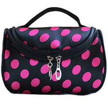 Zipper Portable Cosmetic Dots Bag