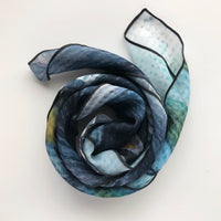 Lakeshore Bridge Square Chiffon ArtScarf | Toronto Scarf Collection | artscarves.ca