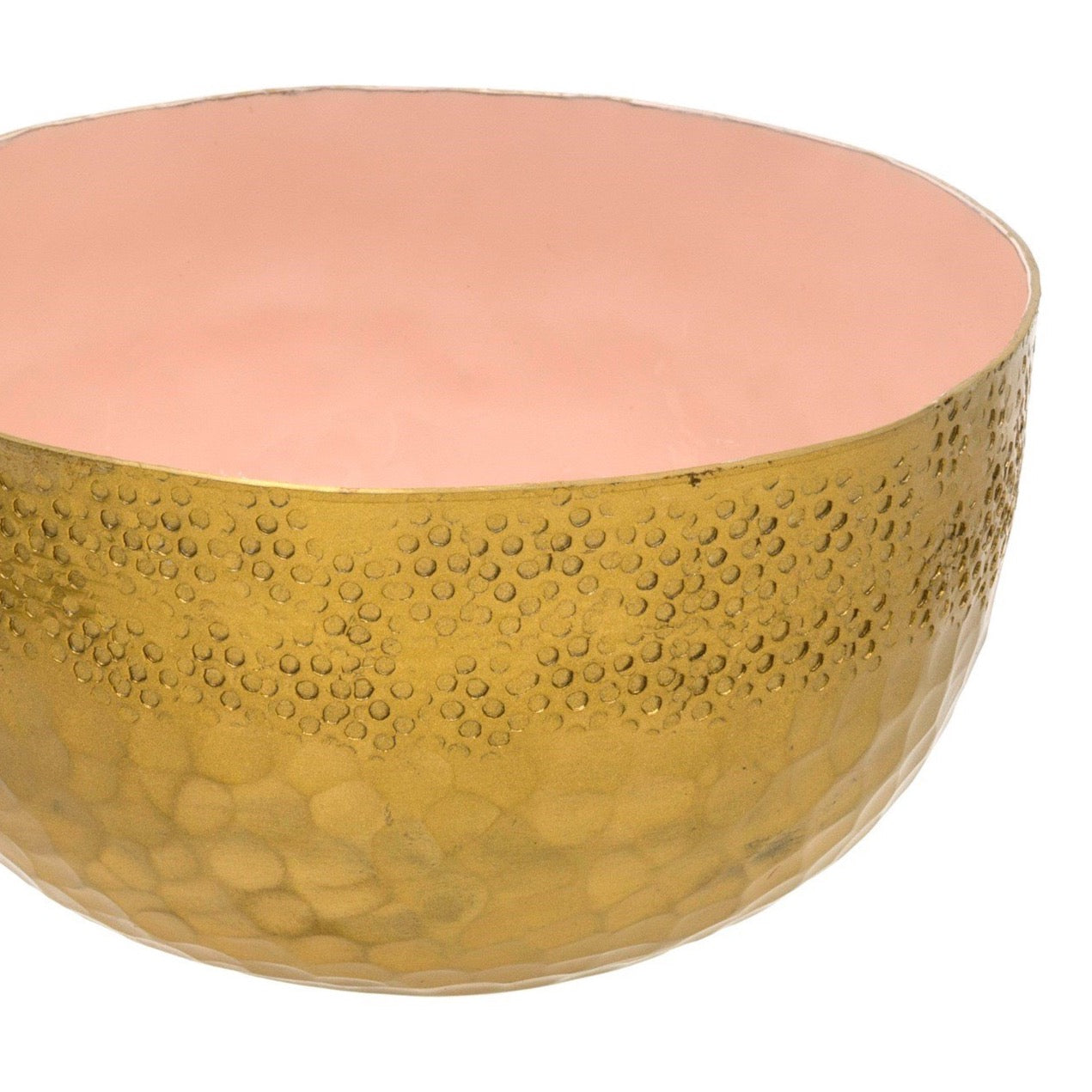 Hammered Helios Bowl - Blush