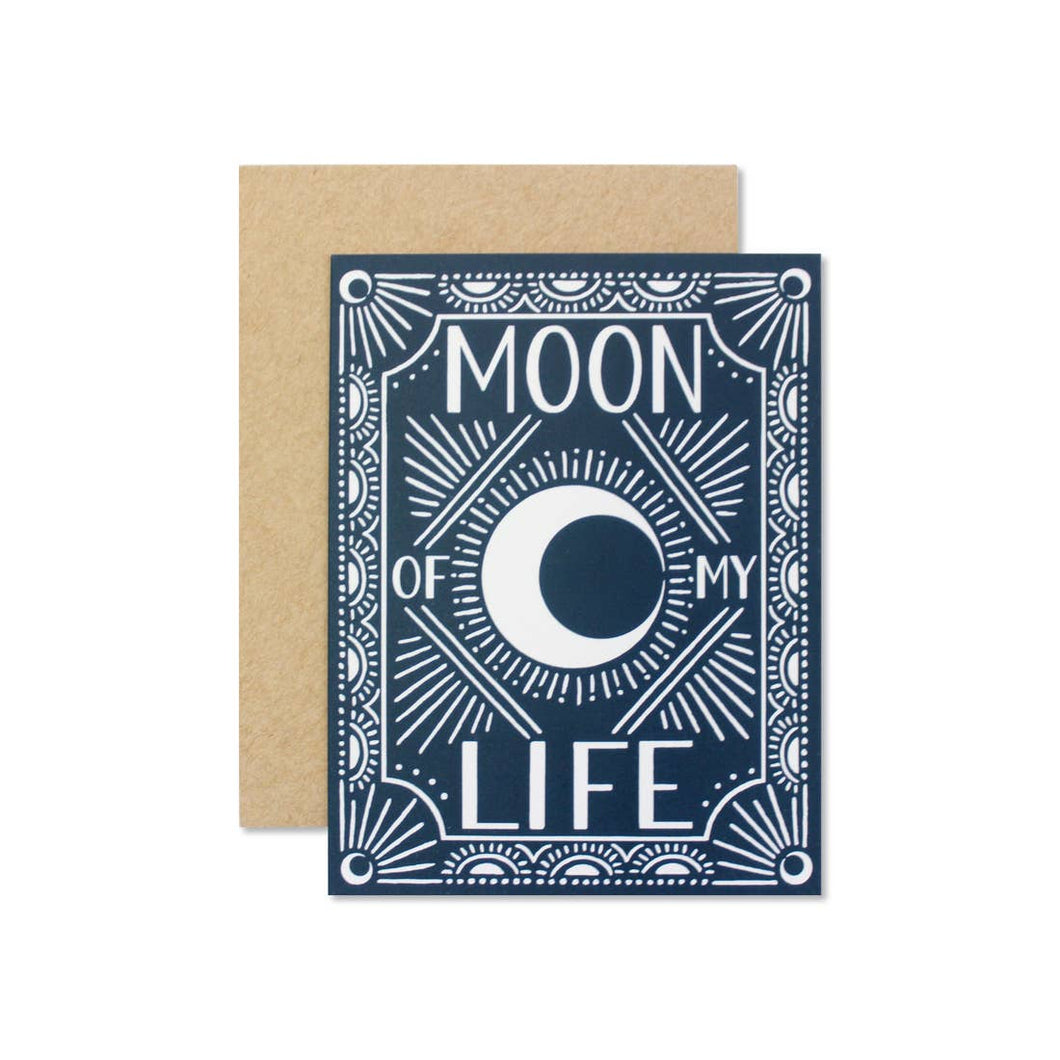 Wild Hart Paper - Moon of my Life Greeting Card