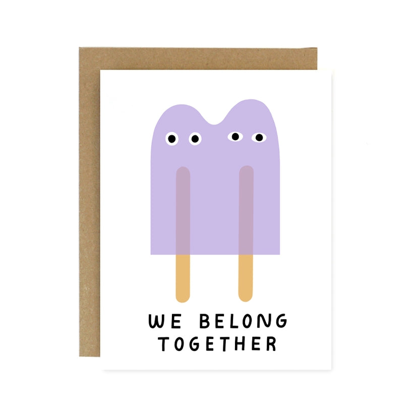 Worthwhile Paper - Together Popsicle Greeting Card