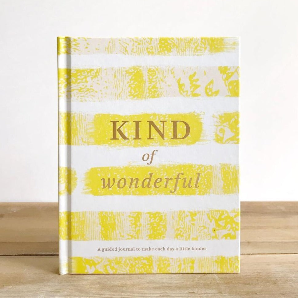 Kind of Wonderful A Guided JOurnal to Make Each Day a Little Kinder Cover
