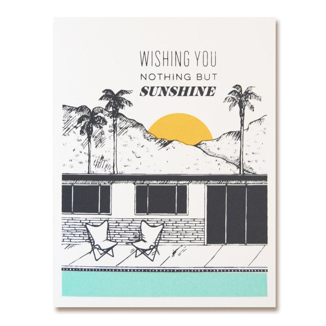 The Good Days Print Co. Nothing But Sunshine Greeting Card