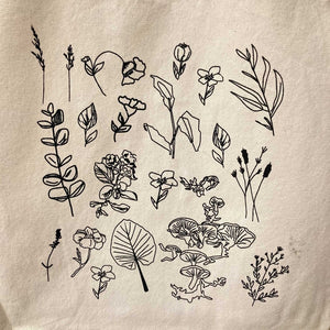 Hunter & Hare Collective Tote Bag for Charity Botanical Designs