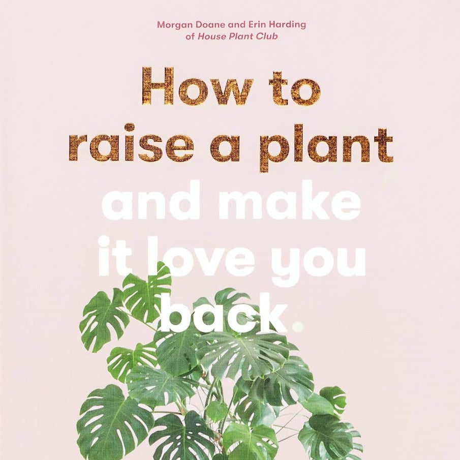 How to raise a plant and make it love you back harcover book Cover