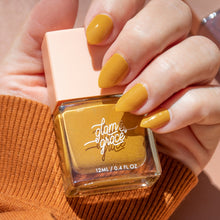 Glam & Grace The Classic Collection Nail Polish Mustard Model