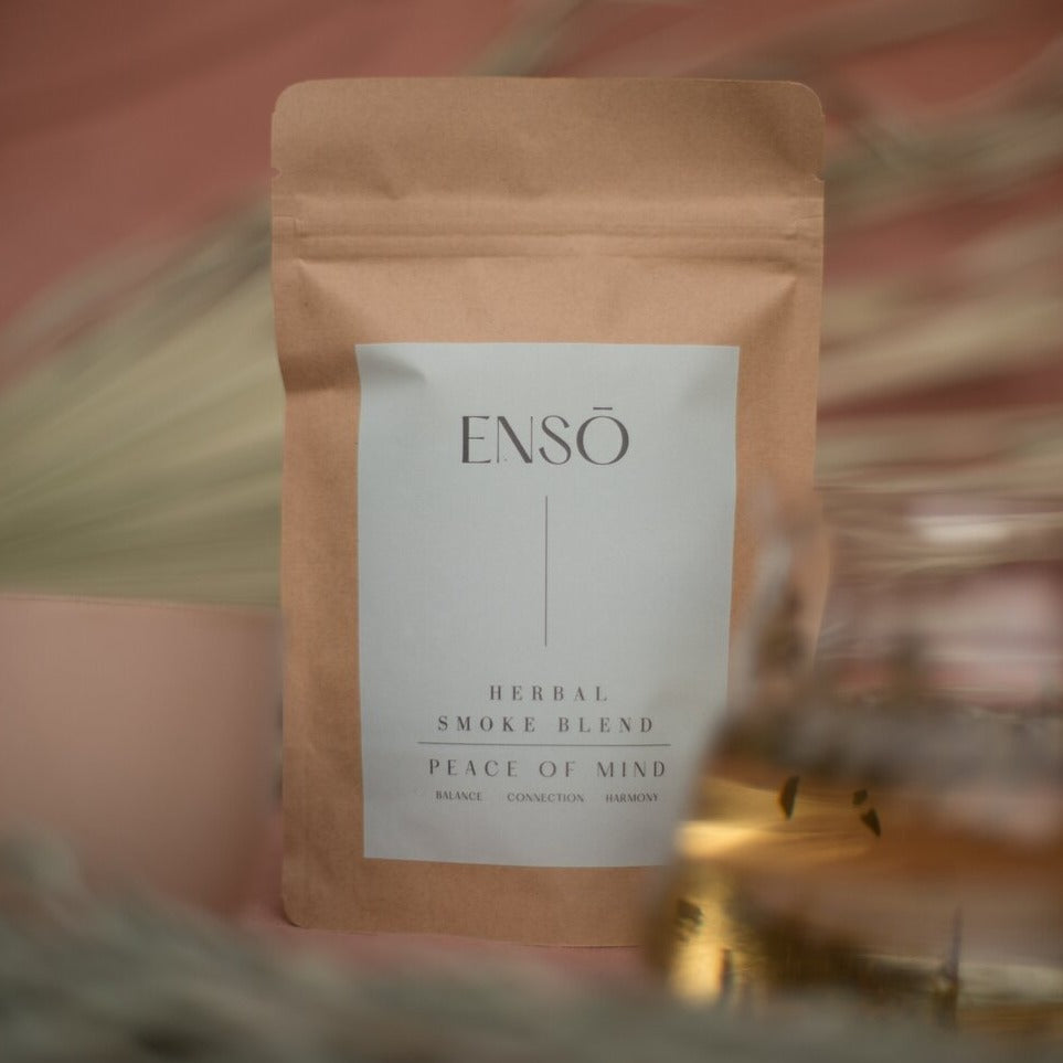 Enso Herbals Peace of Mind Herbal Smoke Blend Lifestyle
