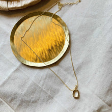 Irregular Hollow Circle Necklace