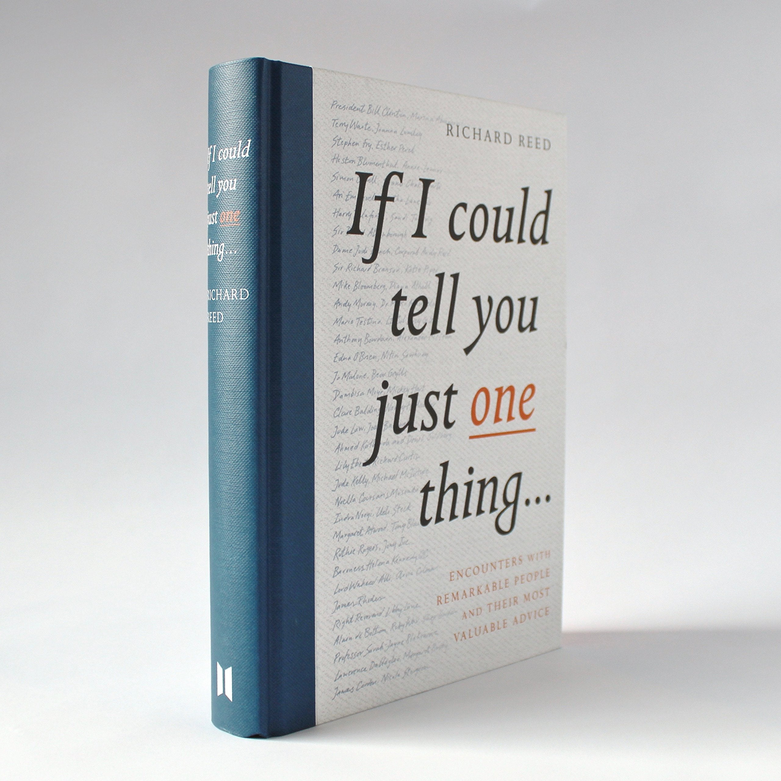 If I could tell you just one thing... book