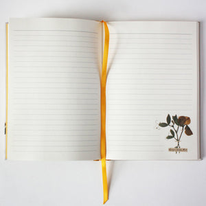 Emily Dickens Inspired Blank Notebook