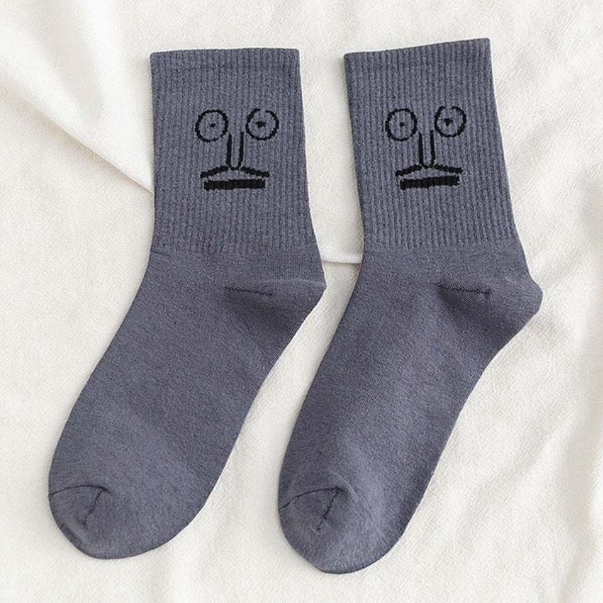 Hunter & Hare Merp Emotional Socks