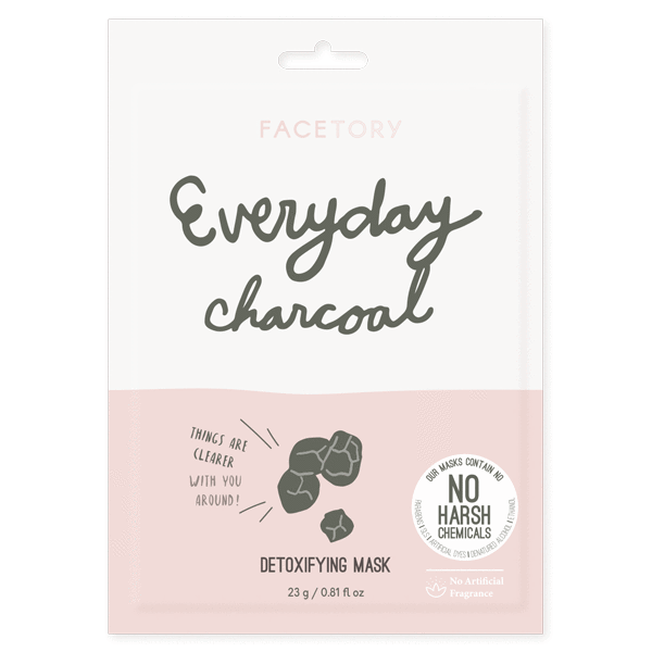 Facetory Everyday Charcoal Sheet Mask