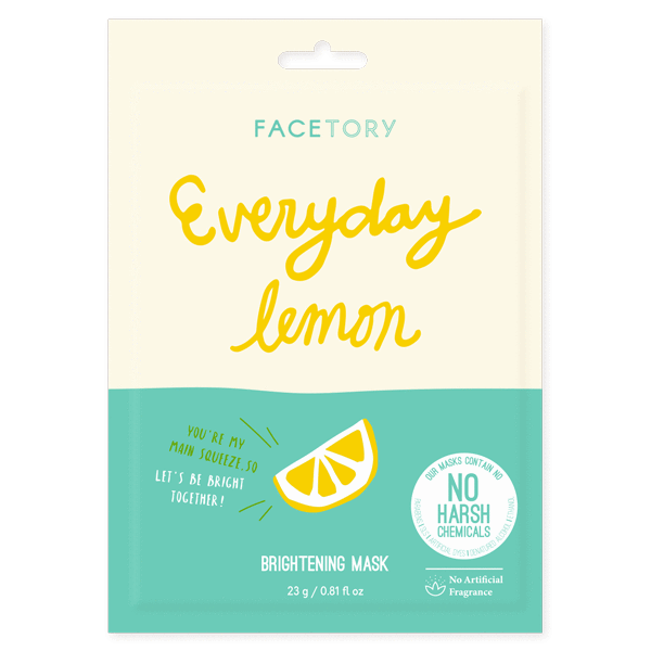 Facetory Everyday Lemon Sheet Mask