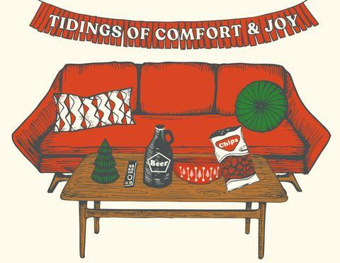 The Good Days Print Co Comfy Holiday Card