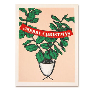 The Good Days Print Co Christmas Fig Holiday Card
