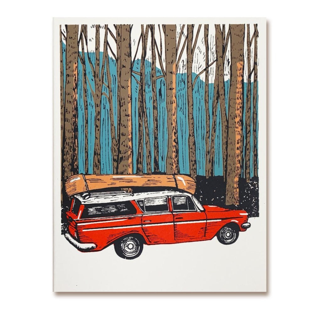 The Good Days Print Co Road Trip Greeting Card