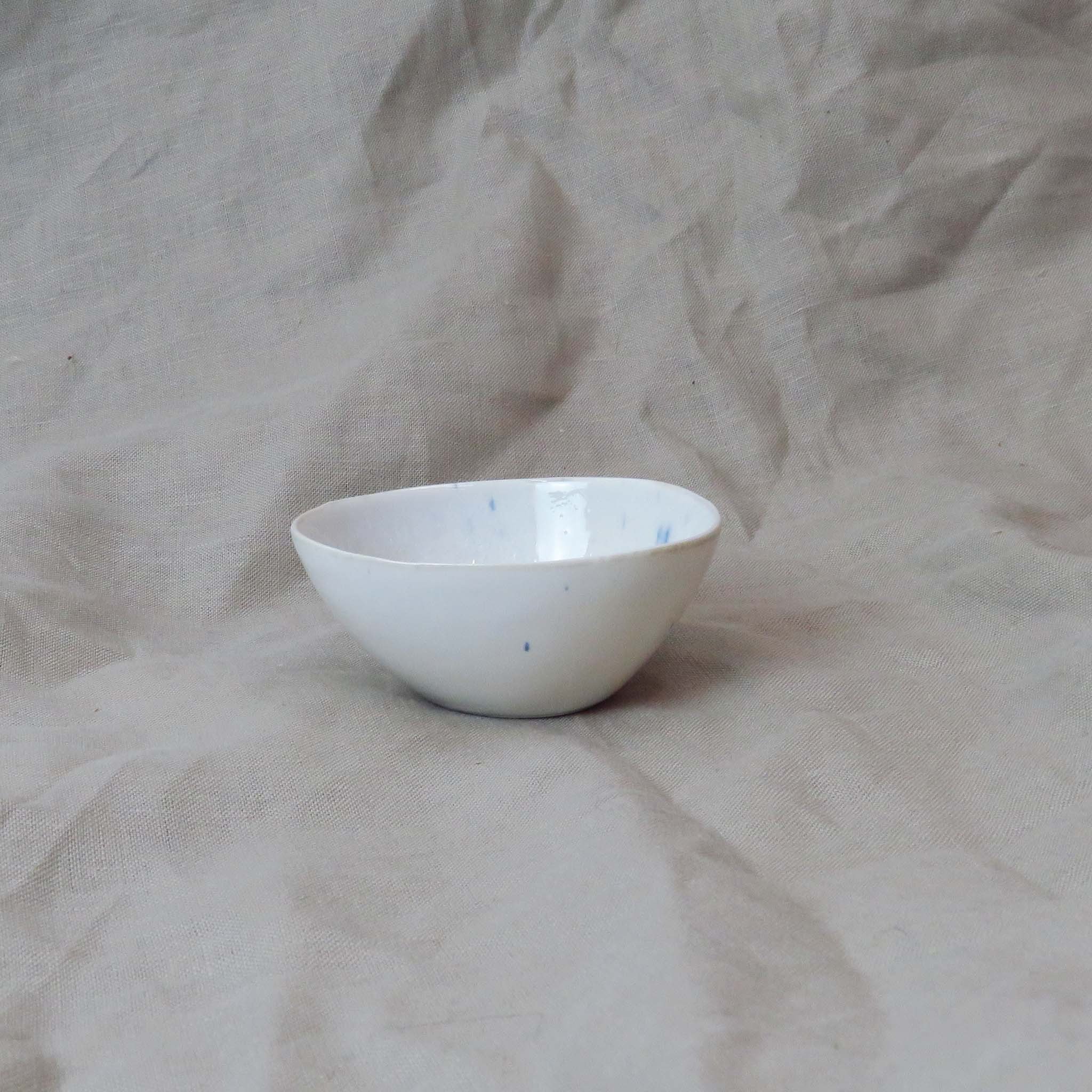 Creative Co-Op Small Ceramic Bowl Side View