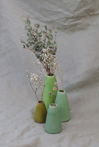 Creative Co-Op Pistachio Assorted Vases Lifestyle