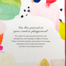 Wake up your imagination: A journal for creative play by Jenny Ronen Back