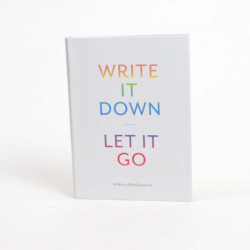 Raincoast Books Write It Down Let It Go A Worry Relief Journal
