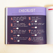 Raincoast Books Illustration Workshop by Mary Kate McDevitt Checklist Spread