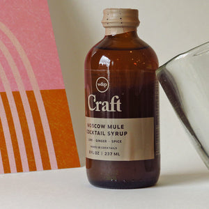 W&P Design Moscow Mule Cocktail Syrup Lifestyle