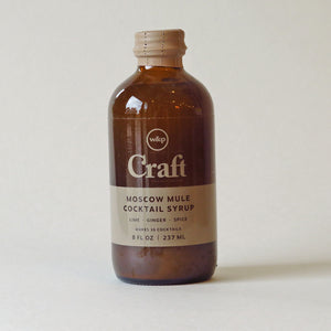 W&P Design Moscow Mule Cocktail Syrup