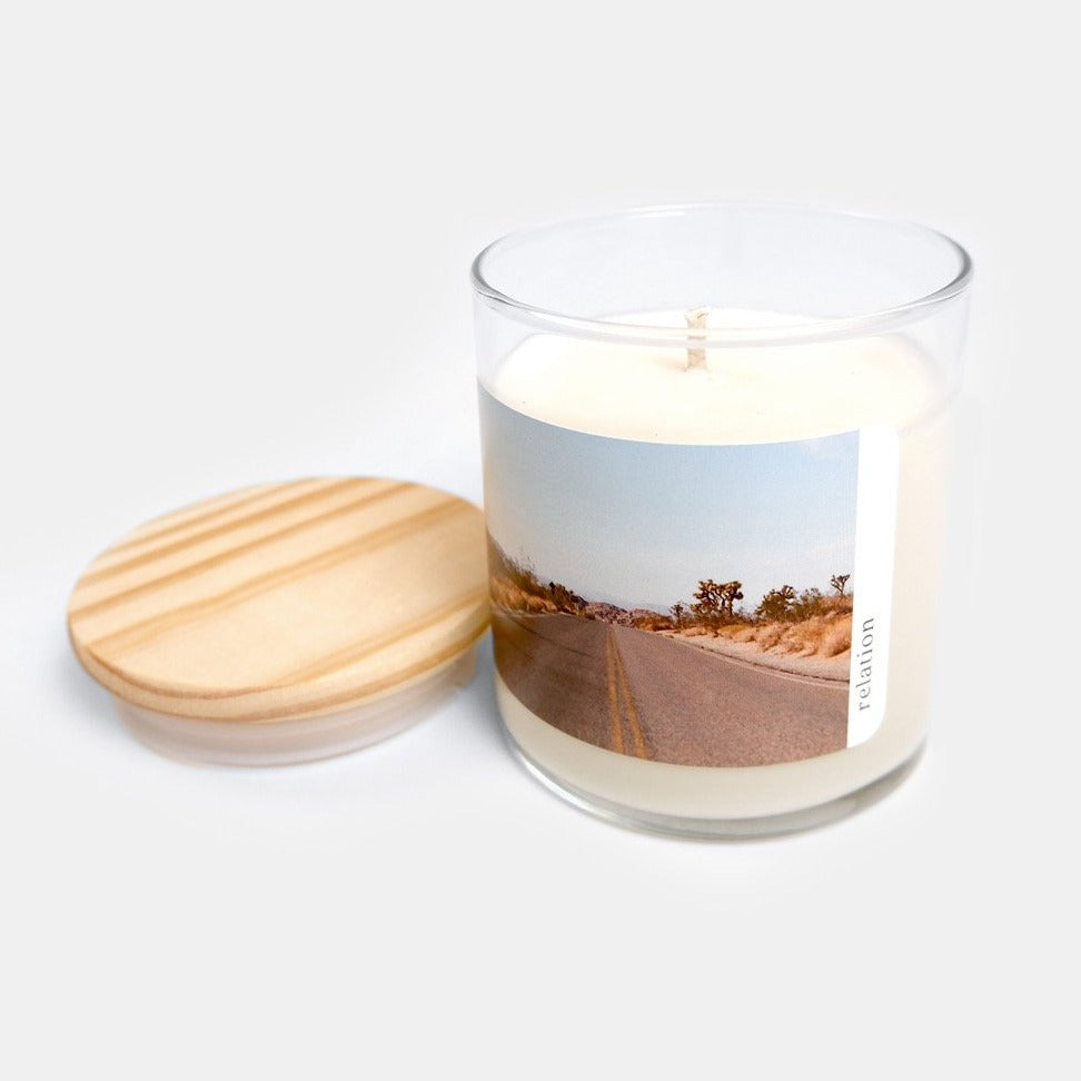 Relation Candles: Hidden Valley - Amber & Neroli