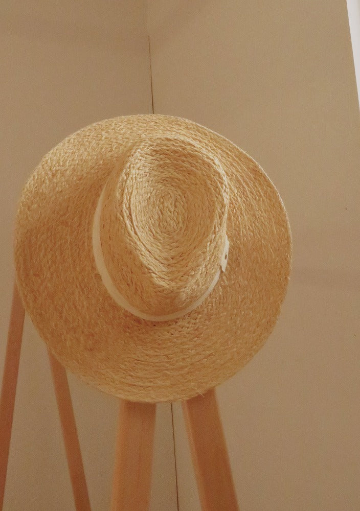 H&M - Pale Straw Sun Hat