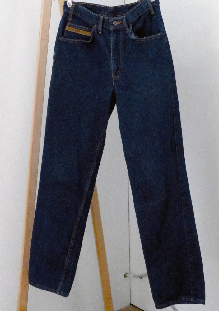 Company - Dark Blue High Rise Straight Leg Jeans