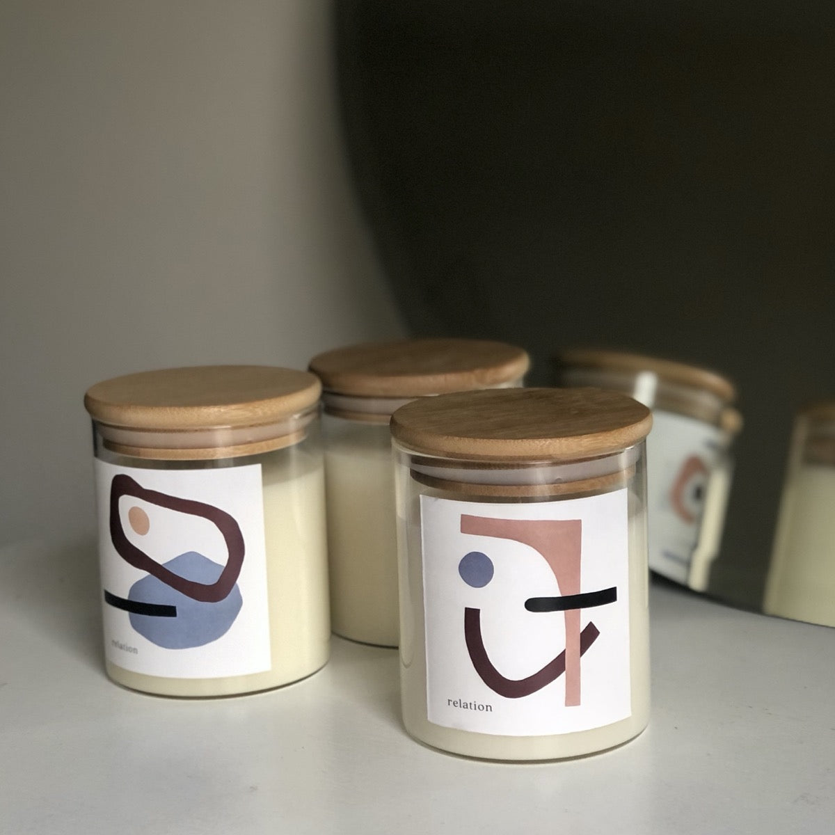 Relation Candles:  Wild Bloom - Jasmine + Ylang Ylang + Sandalwood + Clove